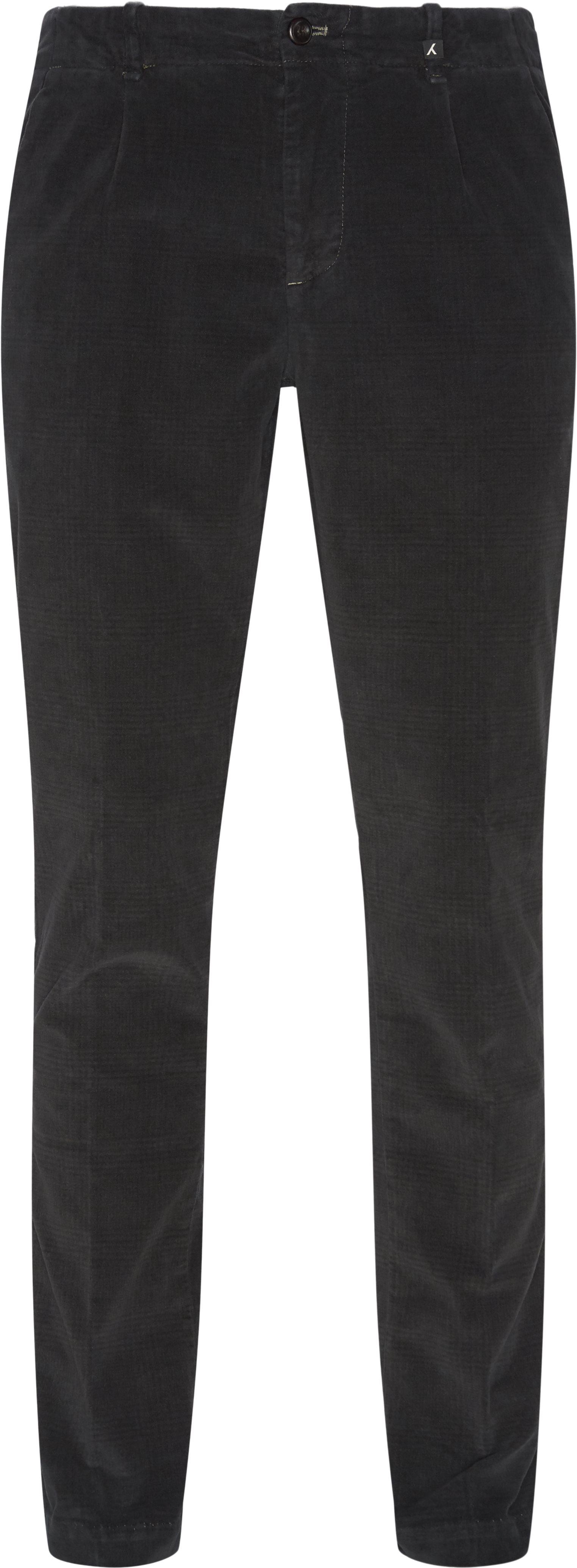 Bukser - Regular fit - Grå