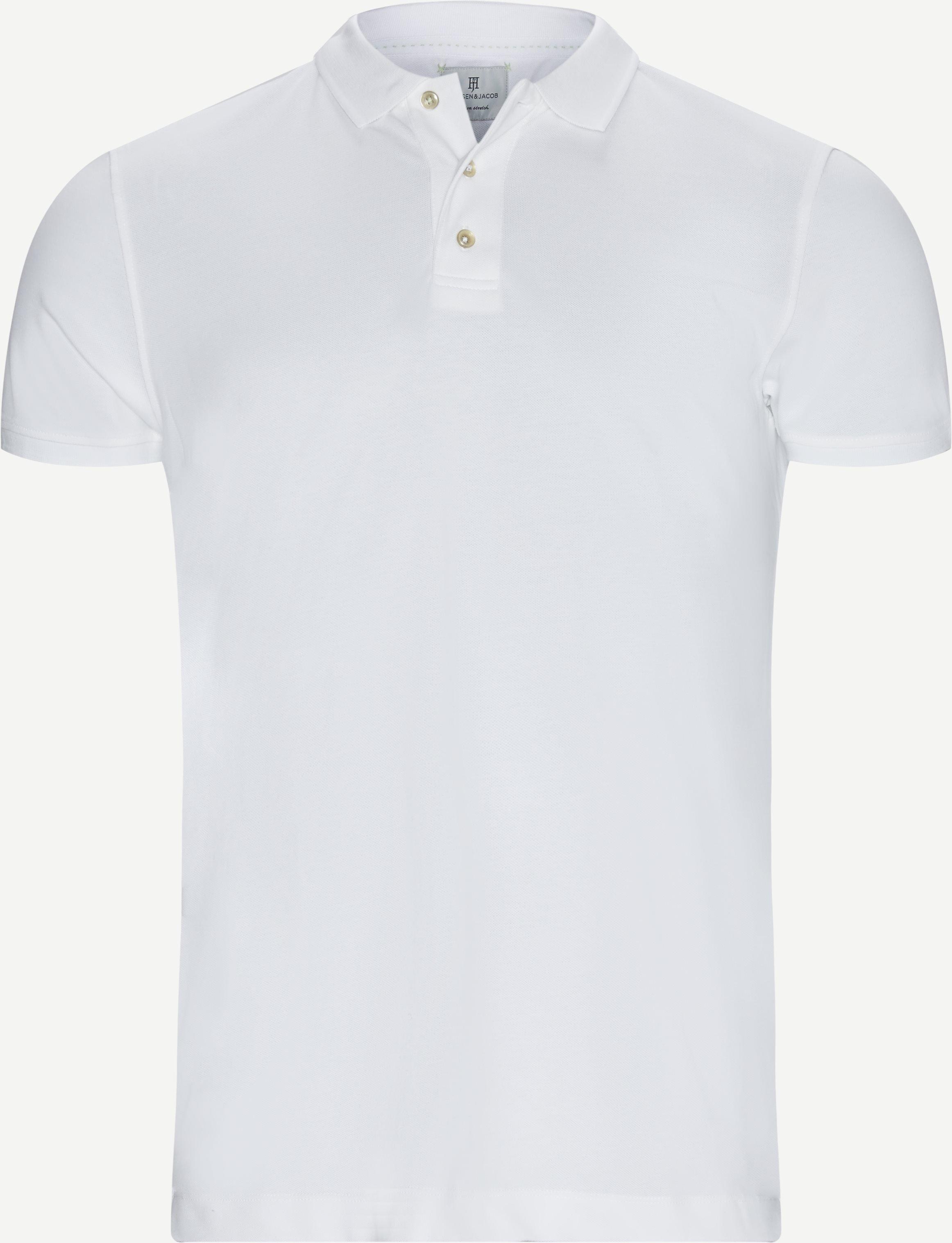 T-shirts - Modern fit - White