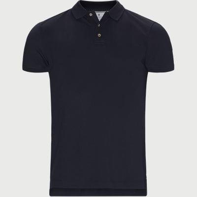 Pique Stretch Polo Modern fit | Pique Stretch Polo | Blå