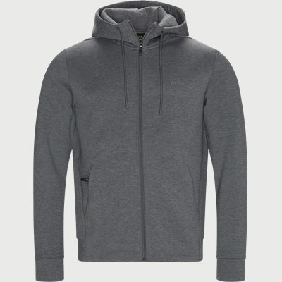 Saggy X Zip Sweatshirt Regular | Saggy X Zip Sweatshirt | Grå