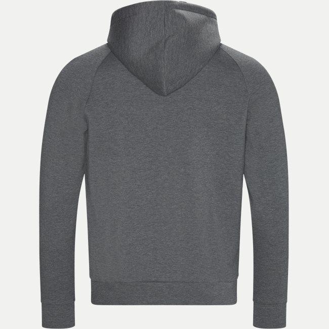 Saggy X Zip Sweatshirt