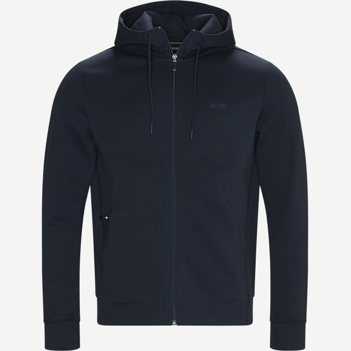 Saggy X Zip Sweatshirt - Sweatshirts - Regular - Blå