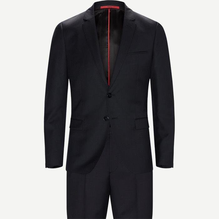 Kostymer - Ekstra slim fit - Svart
