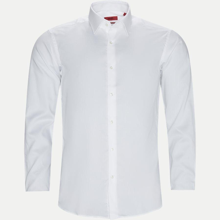 4048/7171 - Venzo Skjorte - Skjorter - HVID - 1