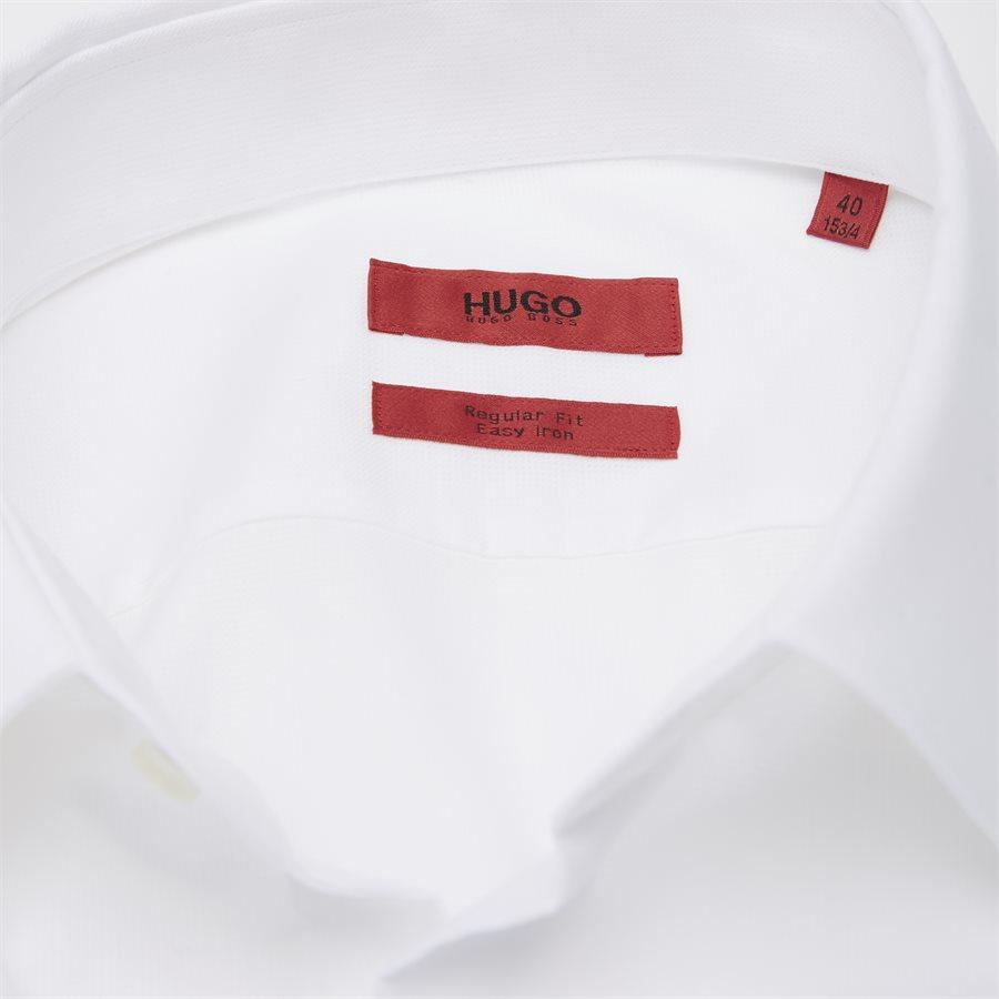 4048/7171 - Venzo Skjorte - Skjorter - HVID - 4