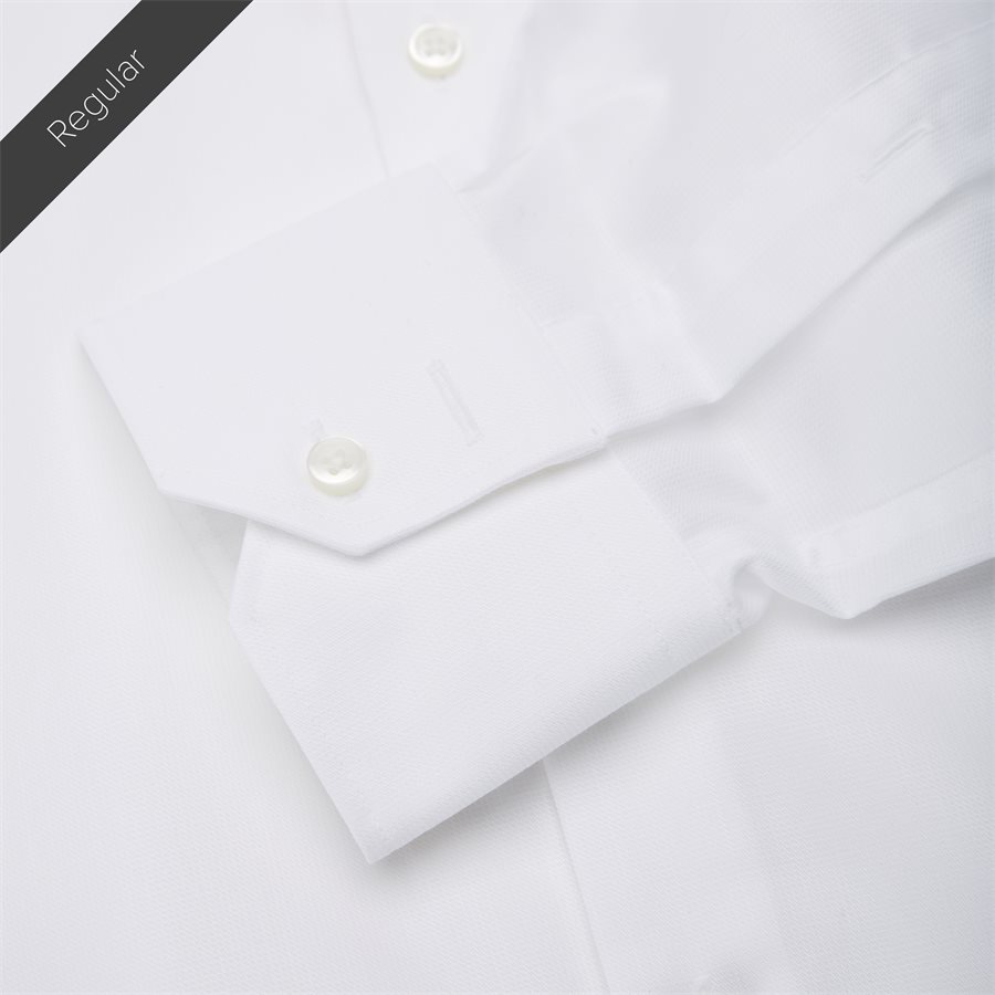 4048/7171 - Venzo Skjorte - Skjorter - HVID - 5