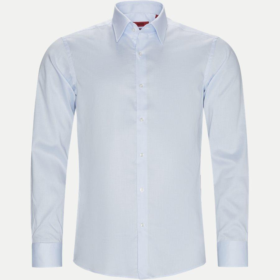 4048/7171 - Venzo Skjorte - Skjorter - LYSBLÅ - 1
