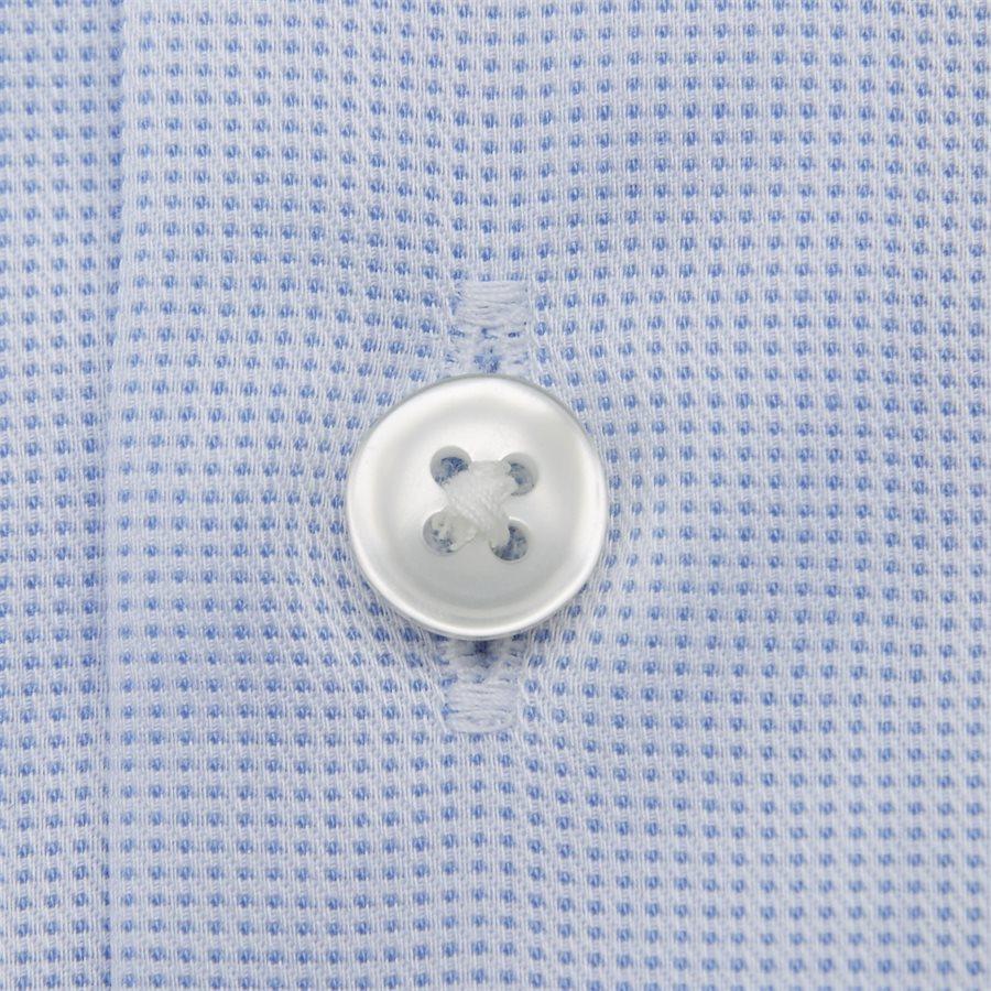 4048/7171 - Venzo Skjorte - Skjorter - LYSBLÅ - 4