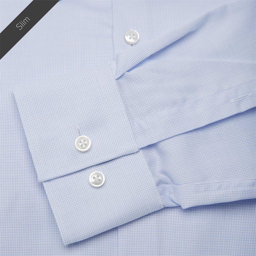 4048/7171 - Venzo Skjorte - Skjorter - LYSBLÅ - 7