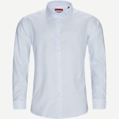 Venzo Skjorte Regular   Venzo Skjorte   Blå