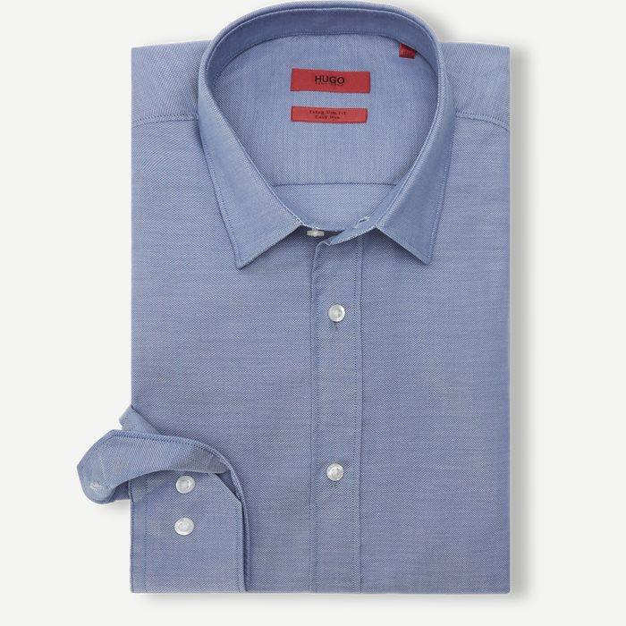 Hemden - Ekstra slim fit - Blau