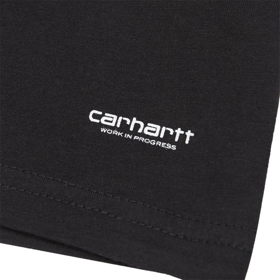 STANDARD TEE I020460 - Standard Tee - T-shirts - Regular - BLACK - 3