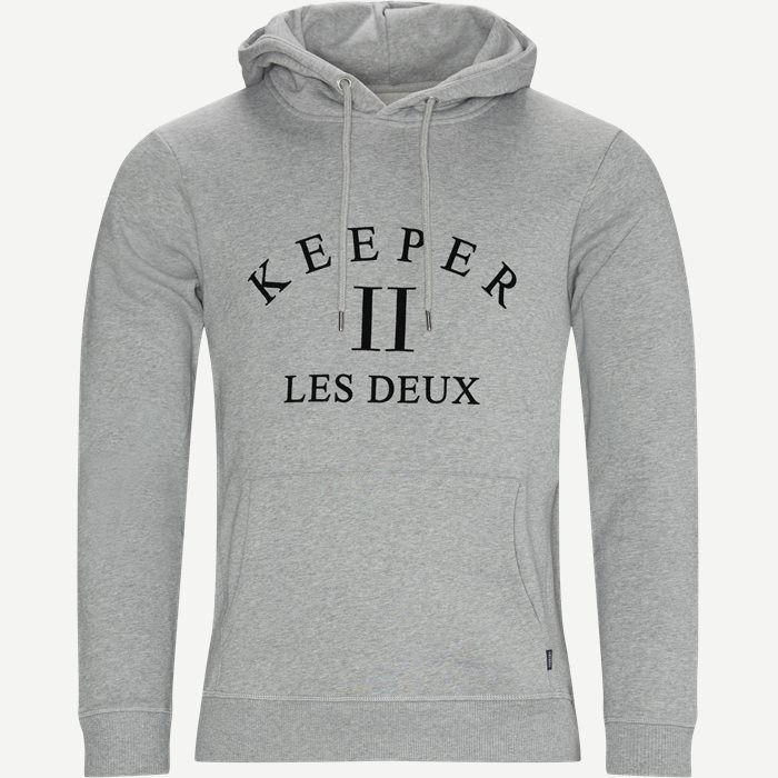 Keeper Hoodie - Sweatshirts - Regular - Grå