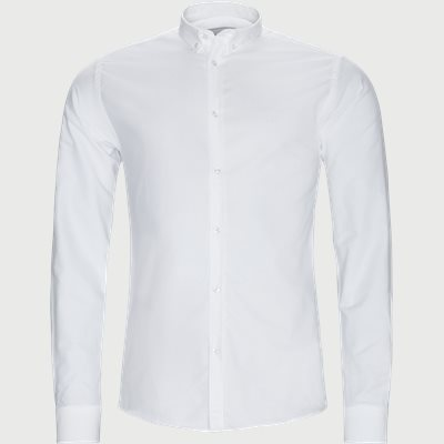 Christoph Oxford Shirt Slim | Christoph Oxford Shirt | Hvid