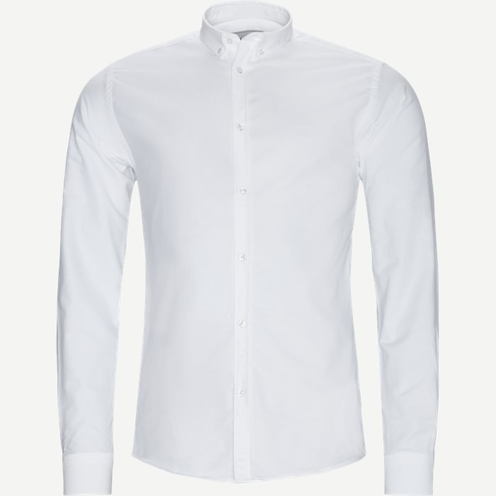 Christoph Oxford Shirt - Skjorter - Slim - Hvid