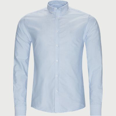 Christoph Oxford Shirt Slim | Christoph Oxford Shirt | Blå