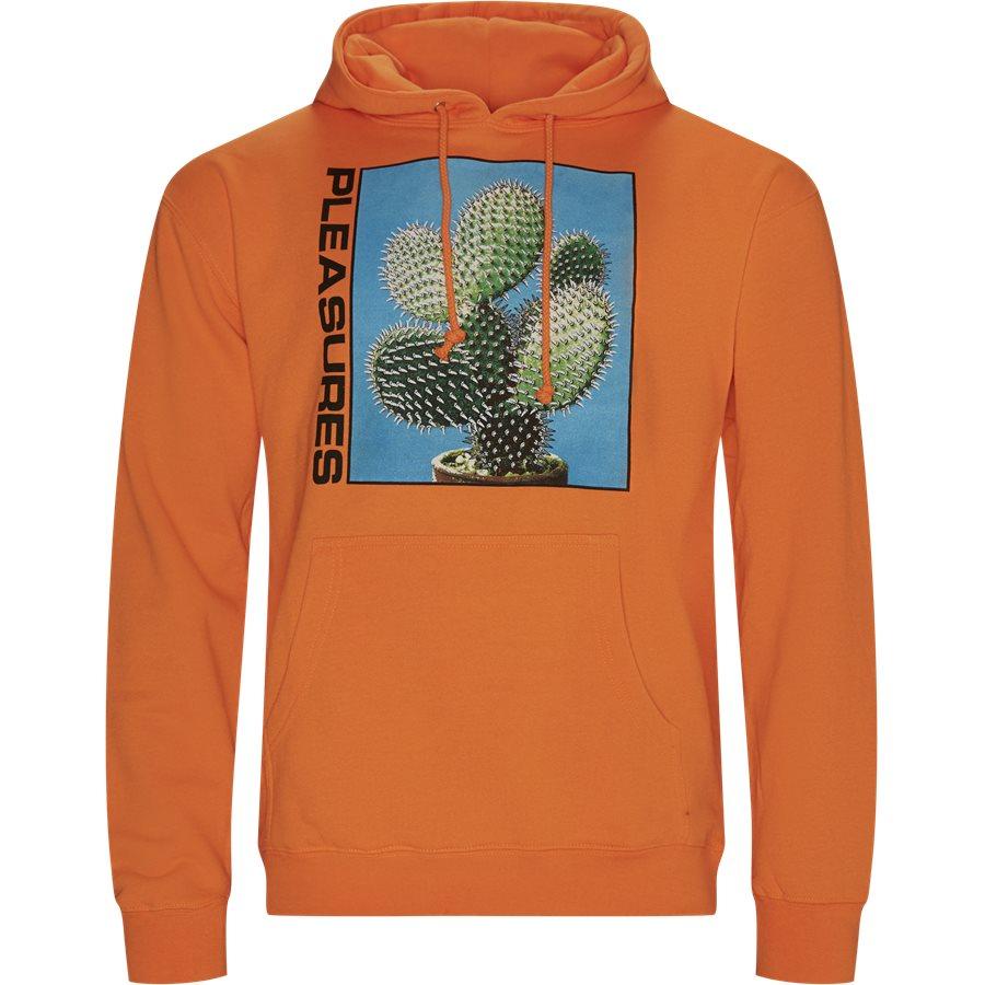 SPIKE HOODY - Spike Hoodie - Sweatshirts - Regular - ORANGE - 1