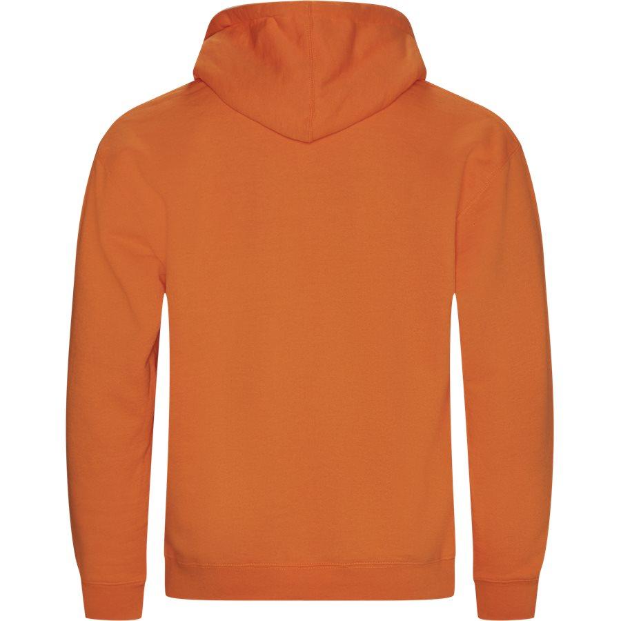 SPIKE HOODY - Spike Hoodie - Sweatshirts - Regular - ORANGE - 2