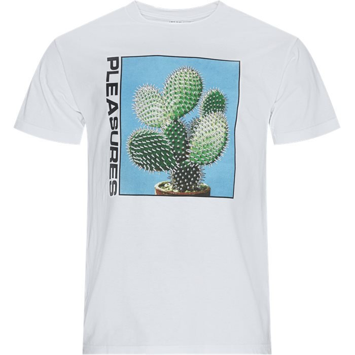 Spike Tee - T-shirts - Regular - Hvid