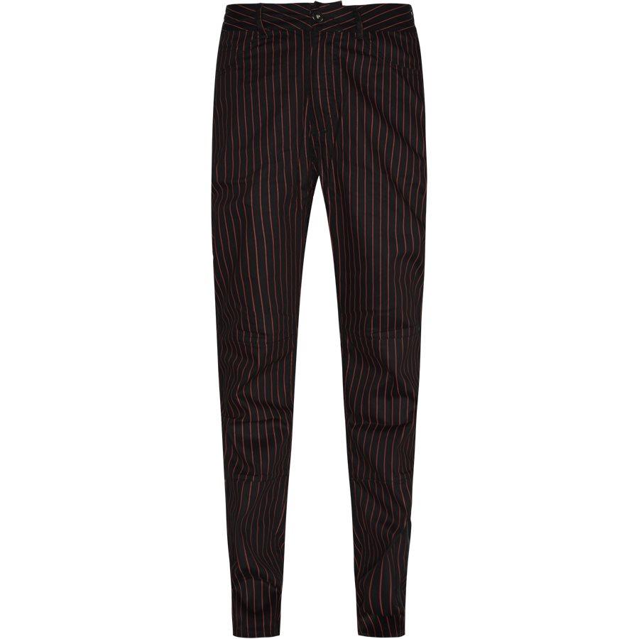BEATLE PINSTRIPE  - Trousers - SORT - 1