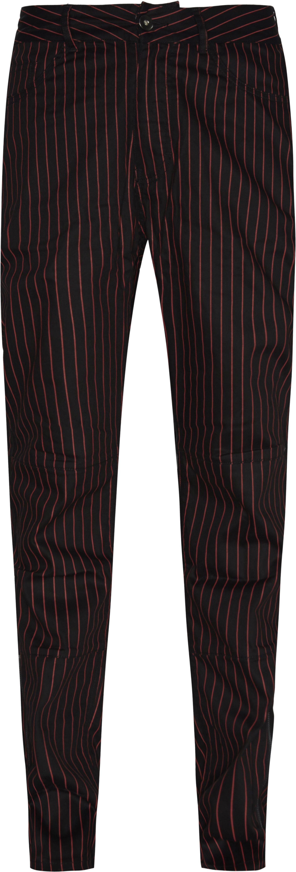 Beatle Pinstripe Pant - Bukser - Sort