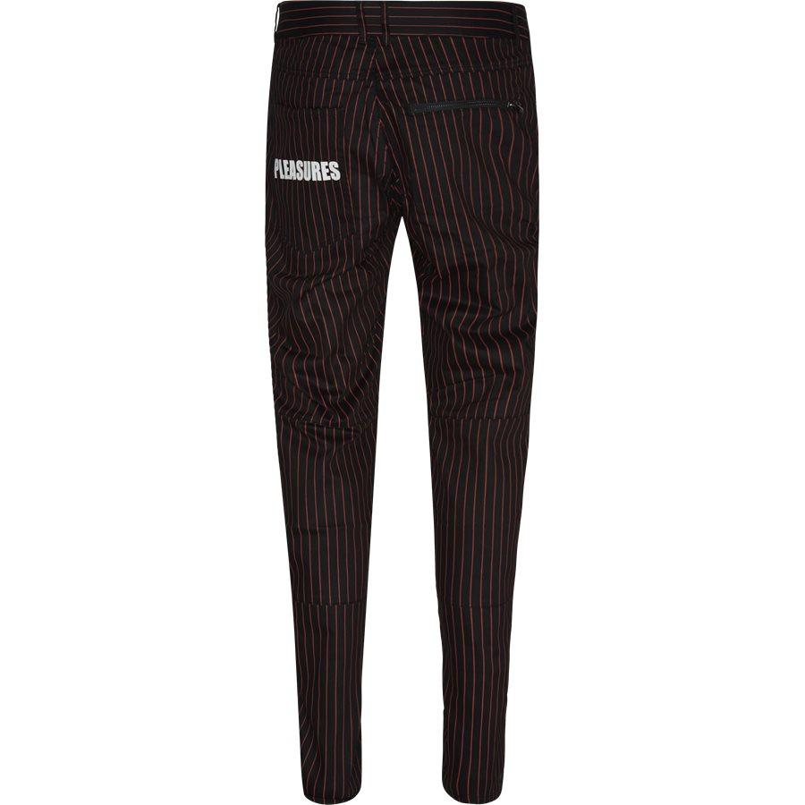 BEATLE PINSTRIPE  - Trousers - SORT - 2