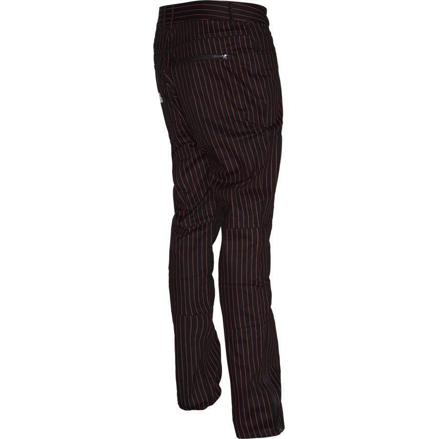 BEATLE PINSTRIPE  - Trousers - SORT - 3