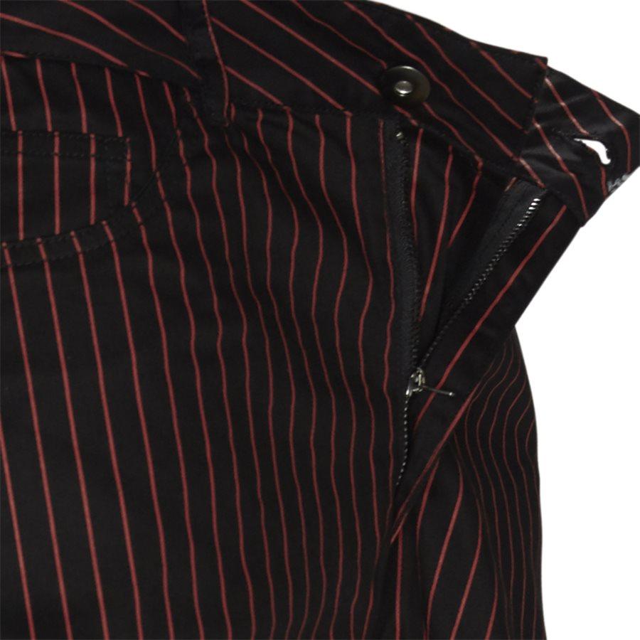 BEATLE PINSTRIPE  - Trousers - SORT - 4