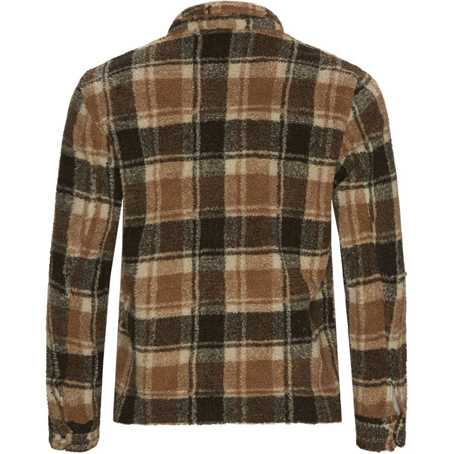 SHERBERT ZIP OVERSHIRT  - Jackets - Regular - BRUN - 2