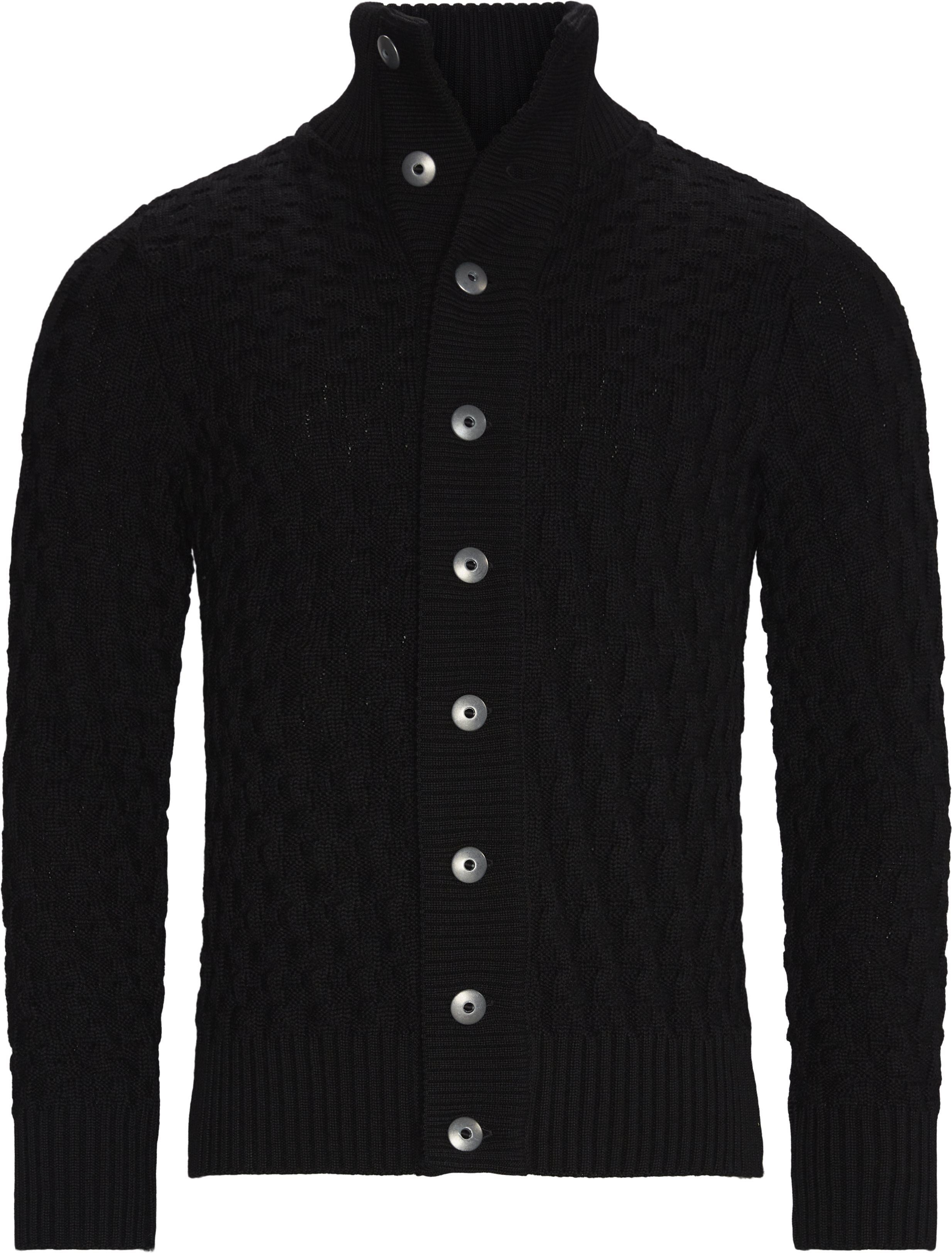 Knitwear - Regular fit - Black