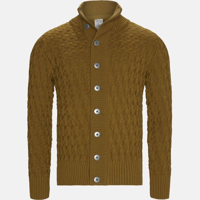 Knitwear - Regular fit - Yellow