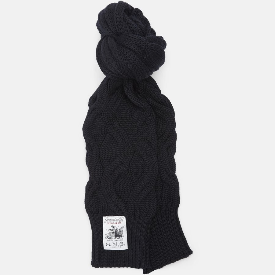 DEMENTIA SCARF 098-S00 - Scarves - NAVY - 1