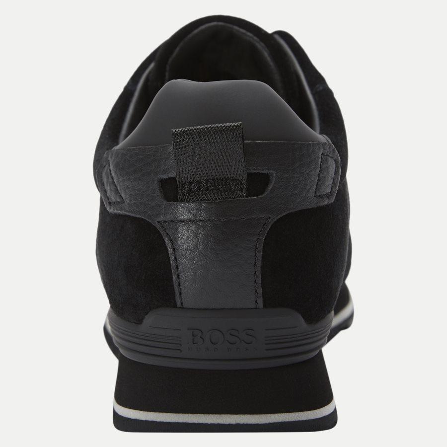 50422401 PARKOUR_RUN - Parkour_Run Sneaker - Sko - SORT - 7