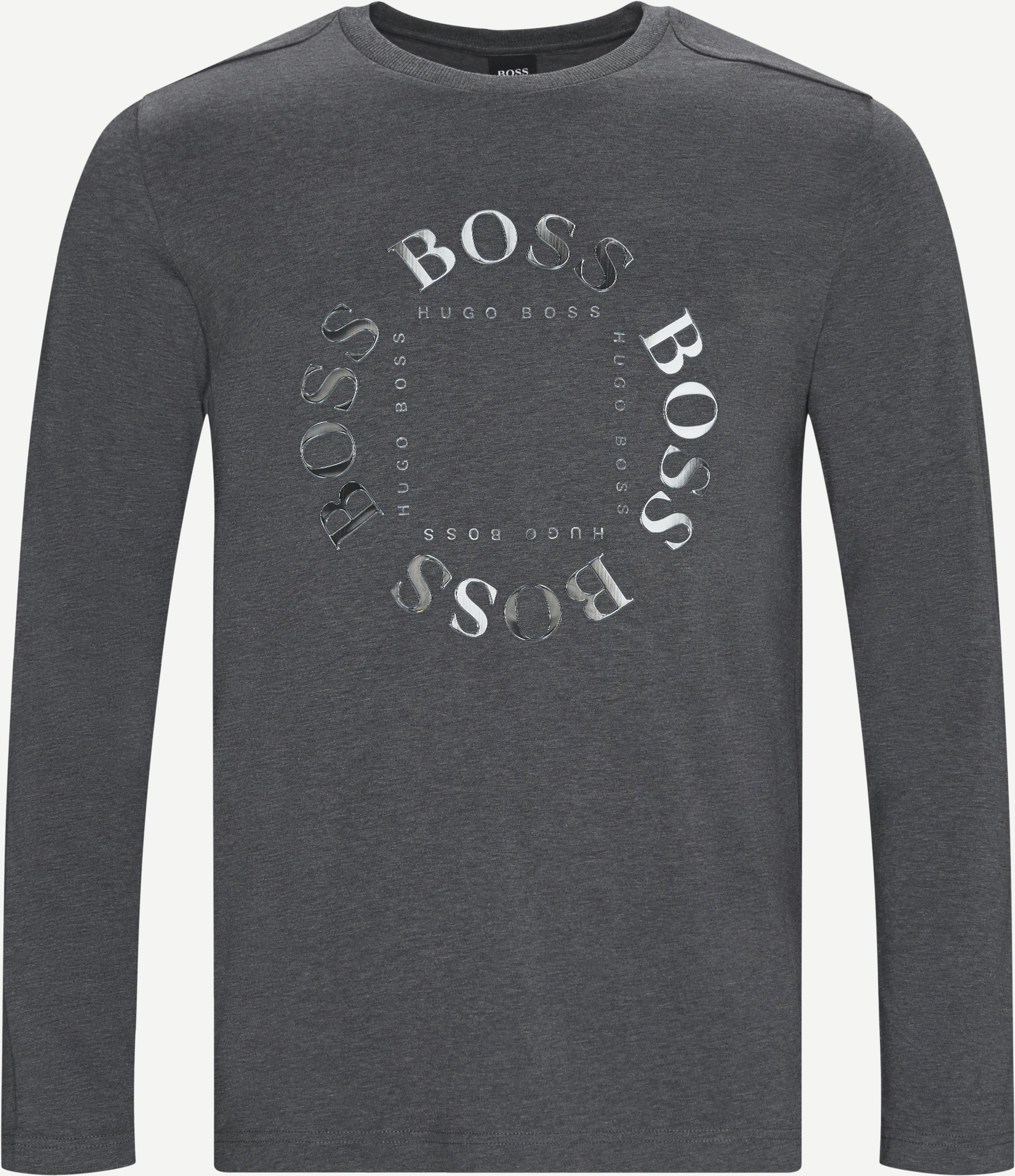 Togn 1 Langærmet T-shirt - T-shirts - Regular fit - Grå