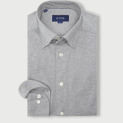 0564 Jersey Shirt Slim | 0564 Jersey Shirt | Grå