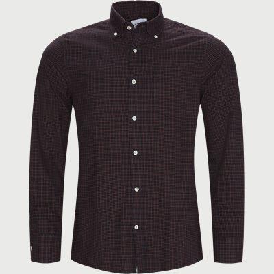 Levon Skjorte Regular | Levon Skjorte | Bordeaux