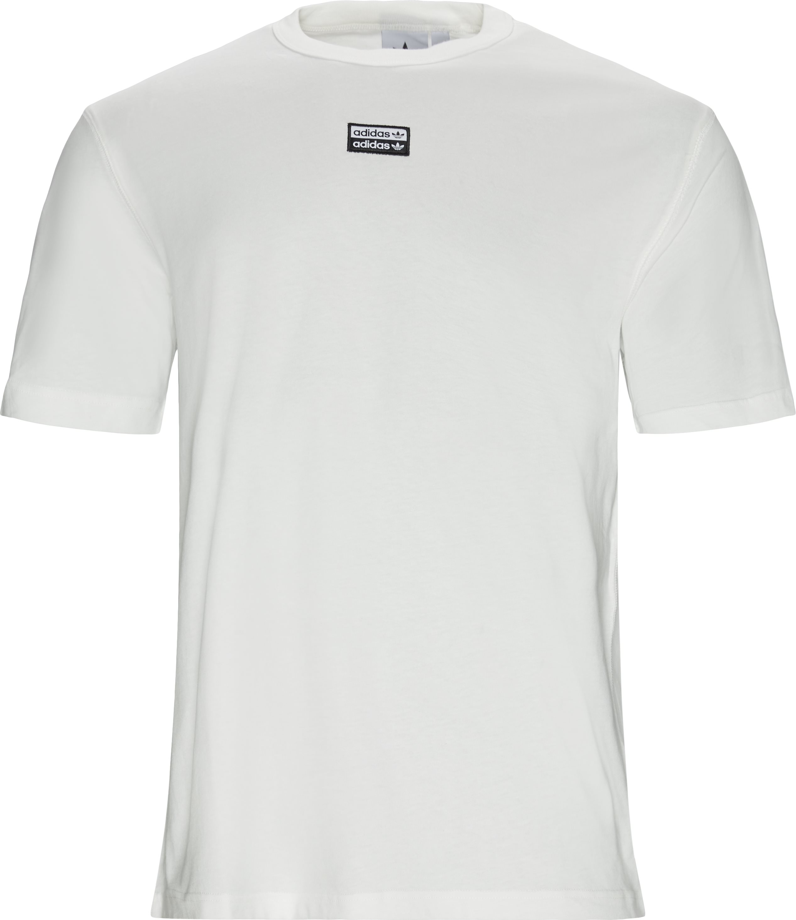 F Tee - T-shirts - Regular - Hvid