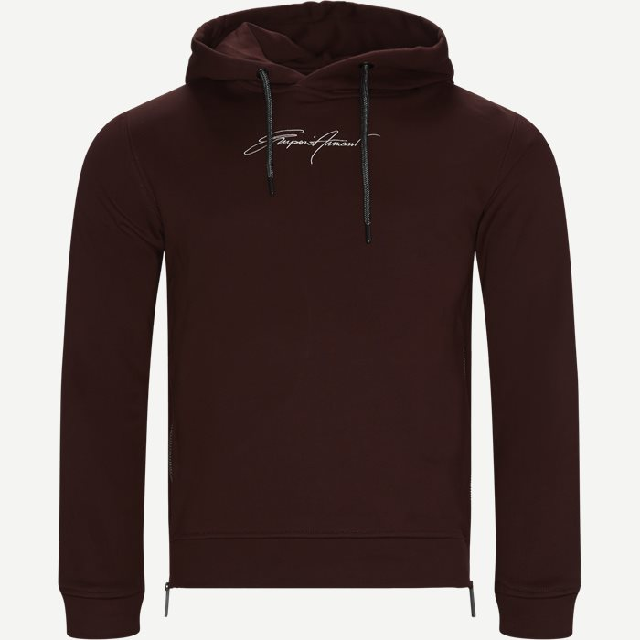 1JJUZ Hoodie - Sweatshirts - Regular - Bordeaux