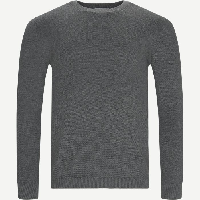 Knitwear - Slim - Grey