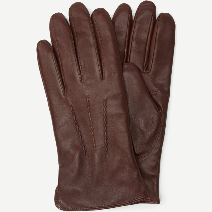 Skindhandsker - Handsker - Brun