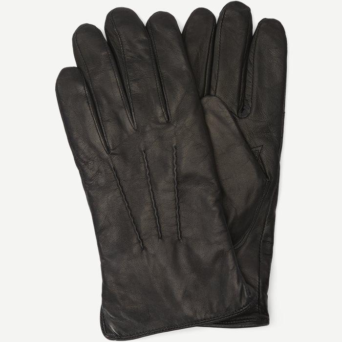 Skindhandsker - Handsker - Sort