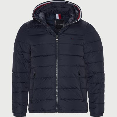 Quiltet Hooded Jacket Regular | Quiltet Hooded Jacket | Blå