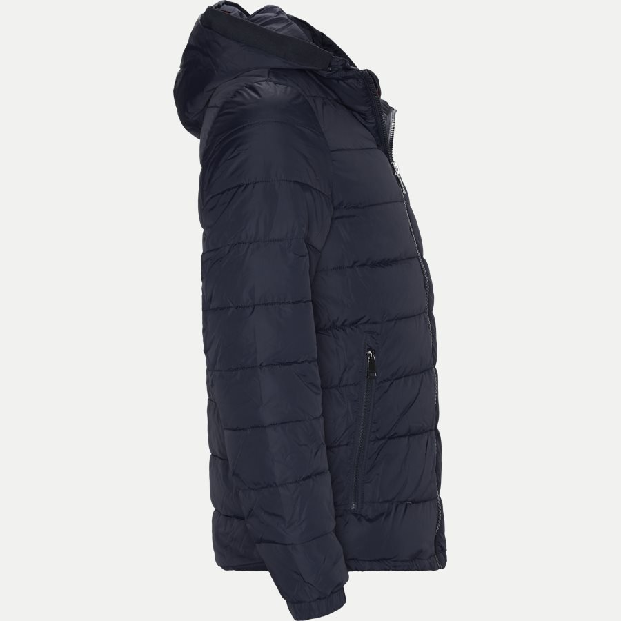 12218 QUILTED HOODED JACKET - Jackets - Regular - NAVY - 2