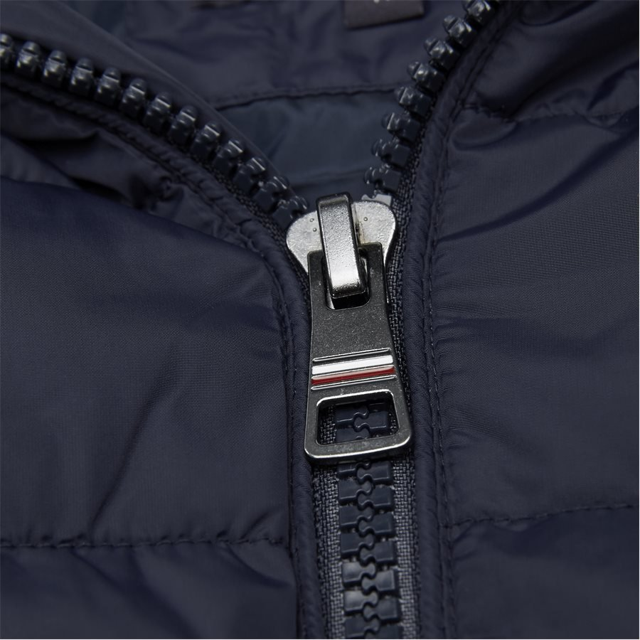 12218 QUILTED HOODED JACKET - Jackets - Regular - NAVY - 3