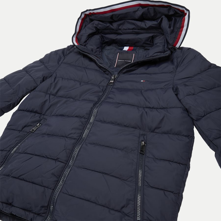 12218 QUILTED HOODED JACKET - Jackets - Regular - NAVY - 5