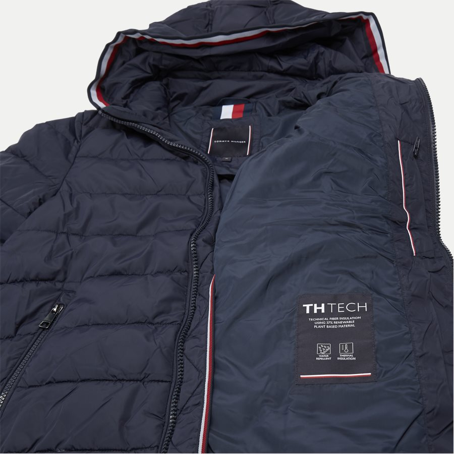 12218 QUILTED HOODED JACKET - Jackets - Regular - NAVY - 7