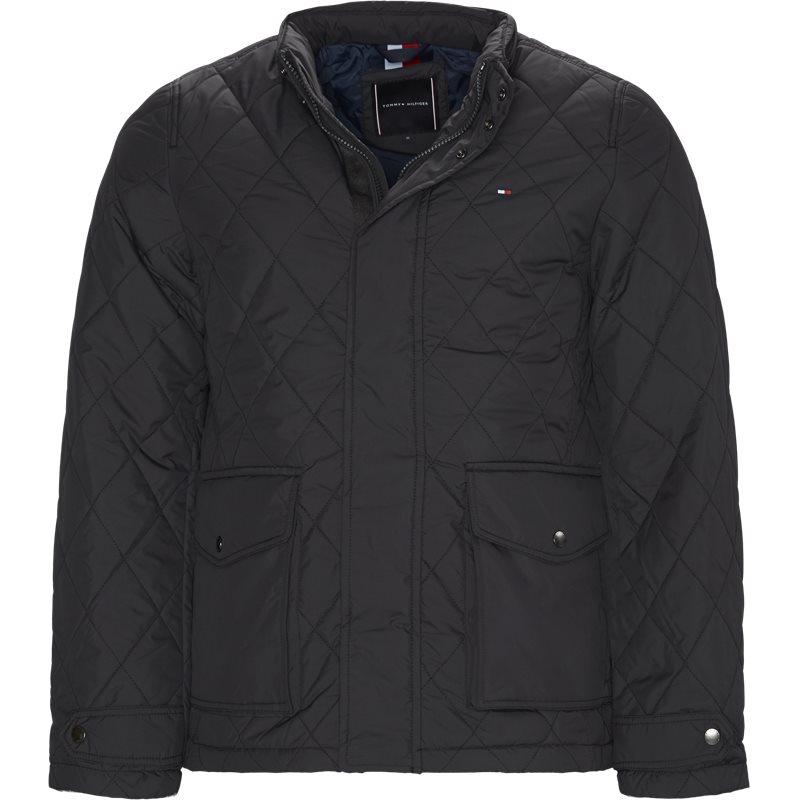 Tommy hilfiger - quiltet jacket fra tommy hilfiger på kaufmann.dk