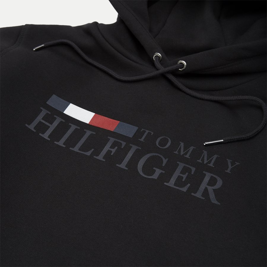 12672 BASIC HILFIGER HOODY - Basic Hilfiger Hoodie - Sweatshirts - Regular - SORT - 4