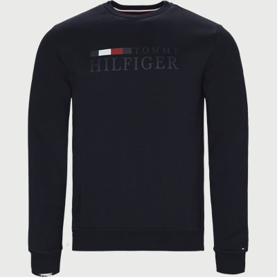 Basic Hilfiger Sweatshirt Regular | Basic Hilfiger Sweatshirt | Blå