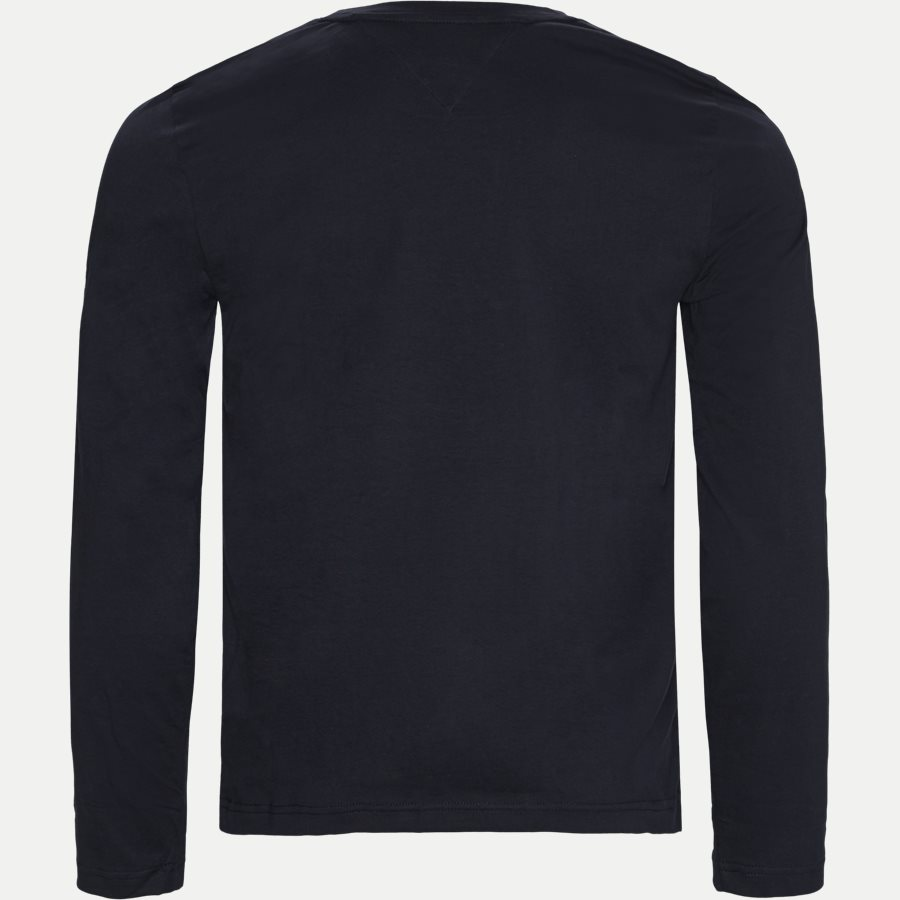12514 TOMMY LOGO LONG SLEEVE - Tommy Logo Long Sleeve T-shirt - T-shirts - Regular - NAVY - 2